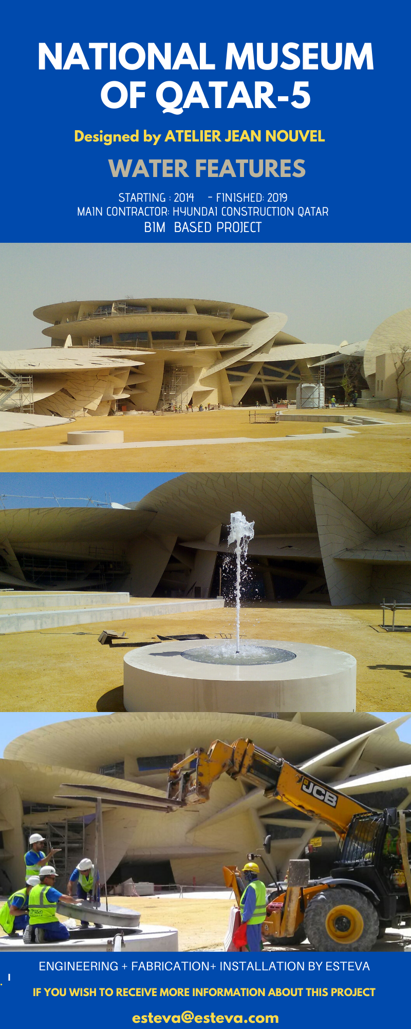 NATIONAL MUSEUM OF QATAR WATERFEATURES